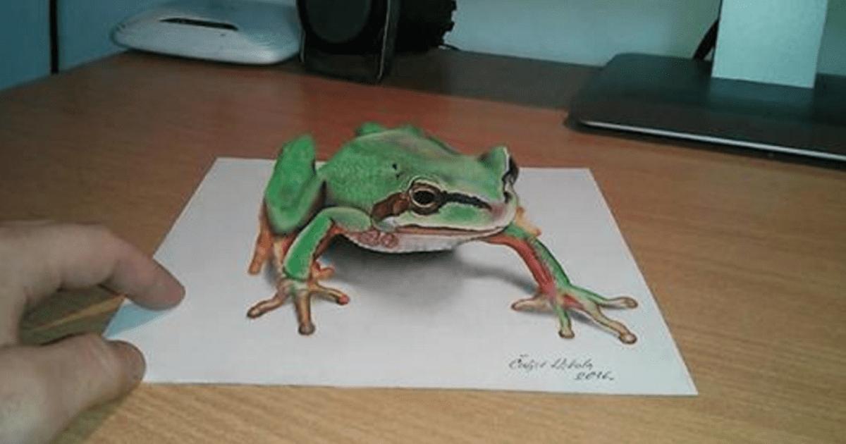 Anamorphic 3D Artwork