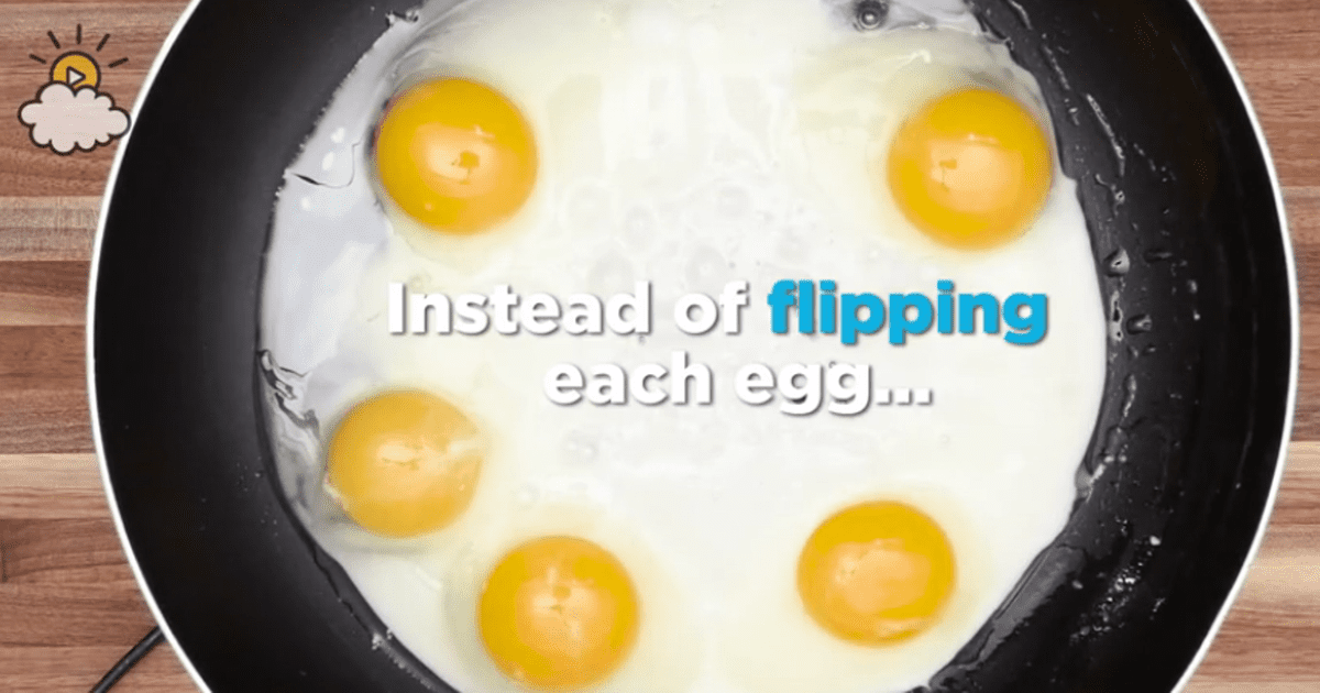 Fried Egg Hack