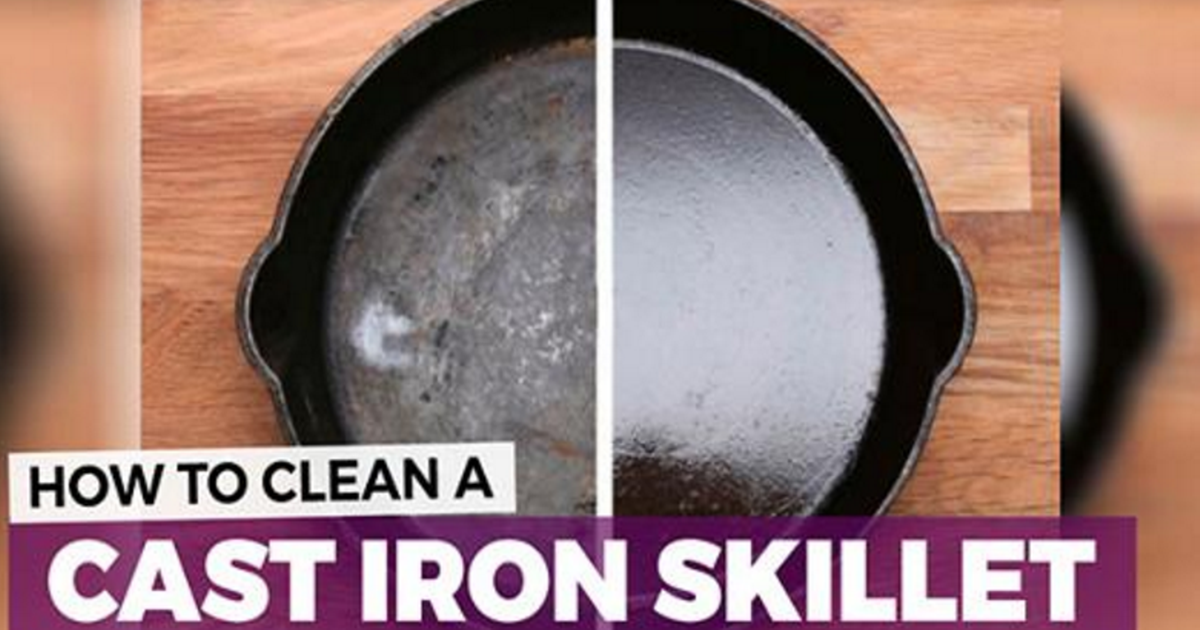 Cast Iron Pan Cleaning