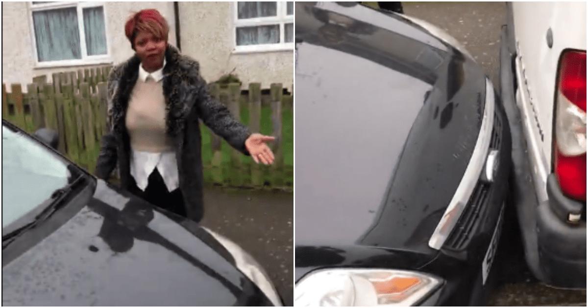 crazy woman video