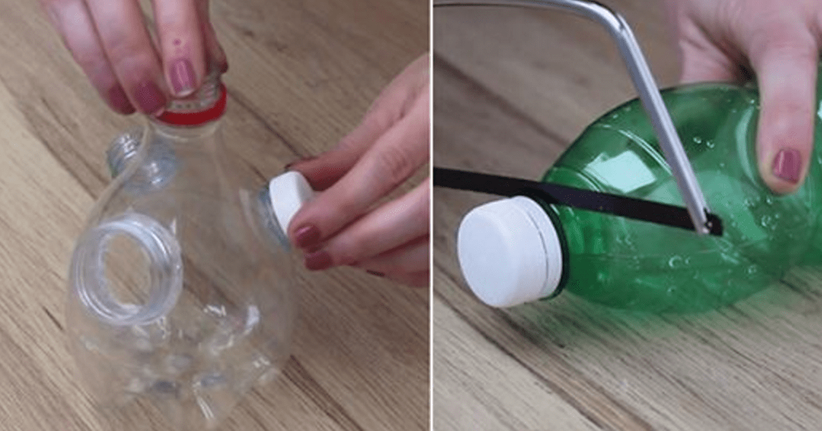 diy recycle plastic bottles