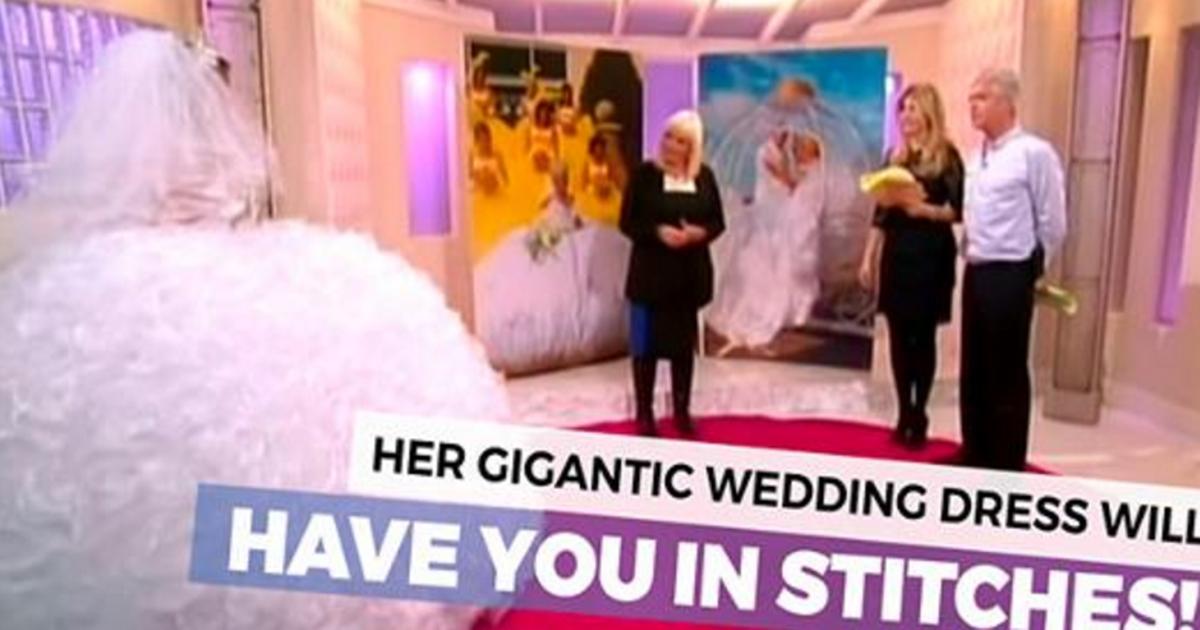 giant wedding dress