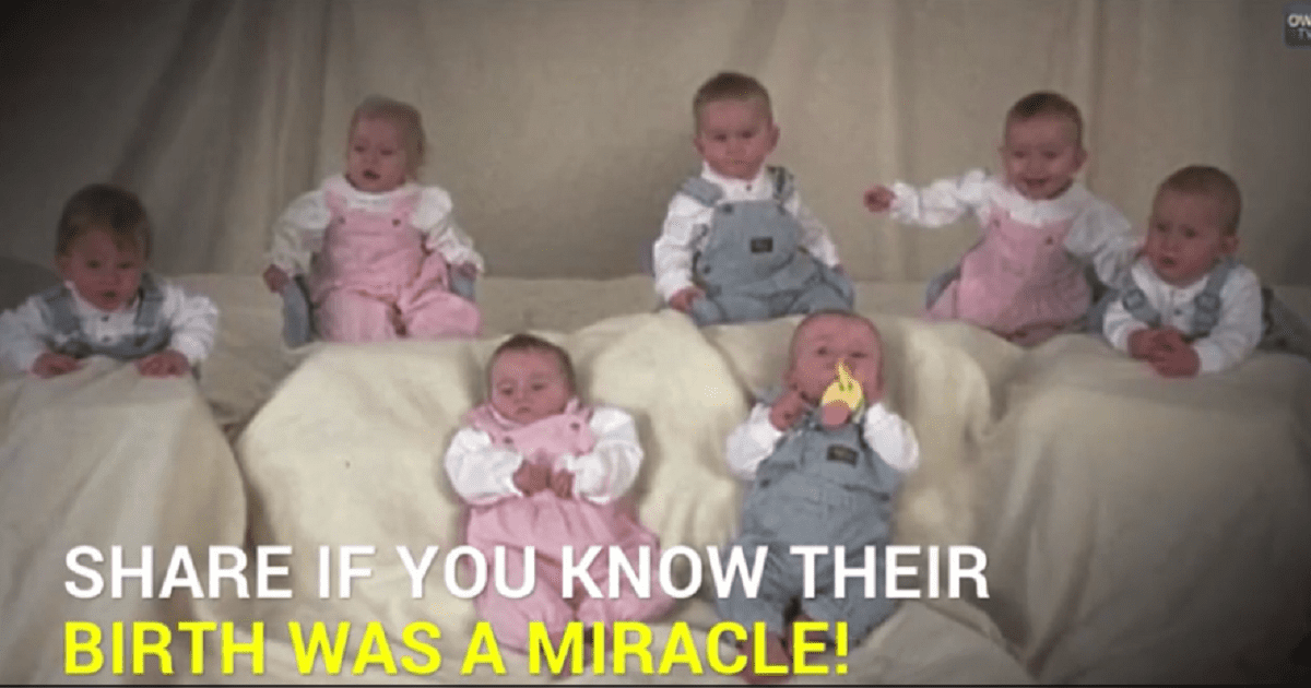 World's First Septuplets