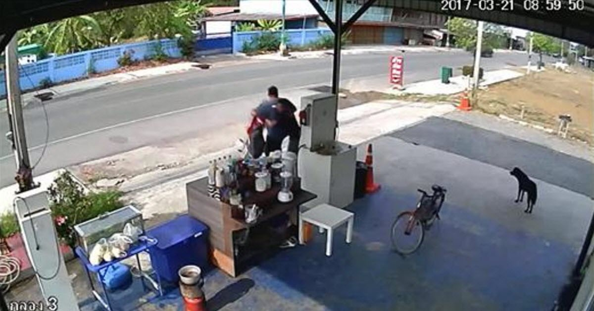 gas pump video