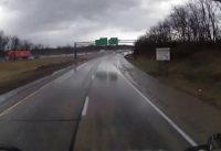 road ditch video
