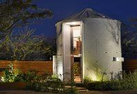 Tiny Grain Silo Home