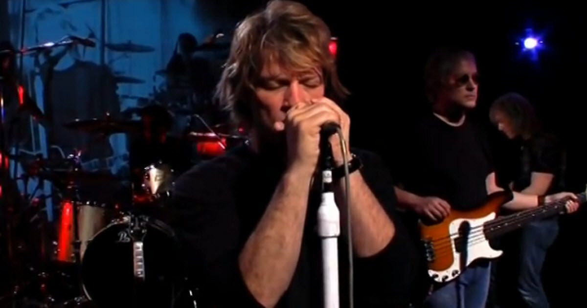 bon jovi hallelujah video