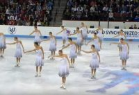 synchronized skating video
