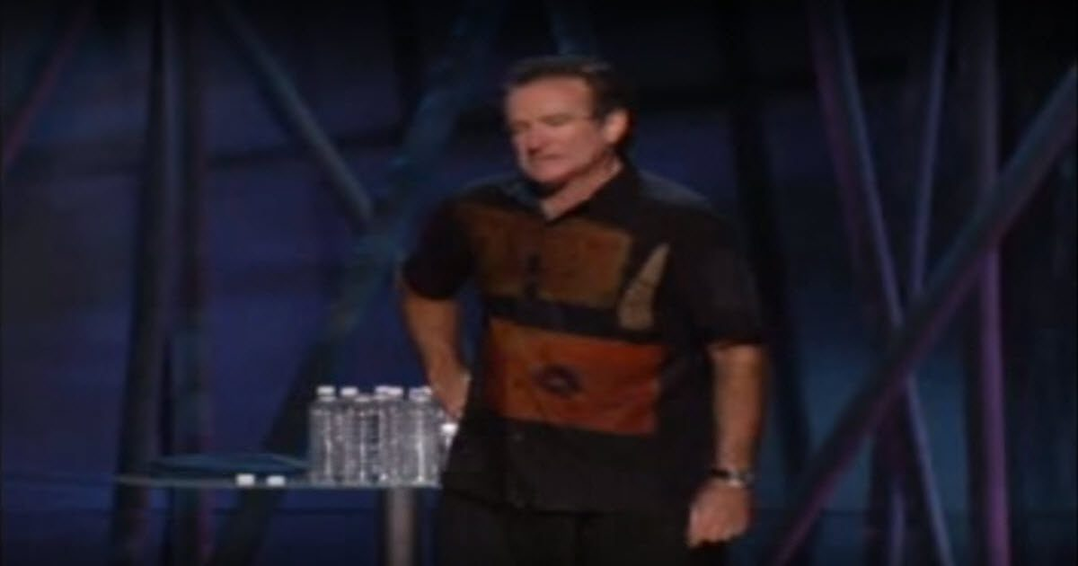Robin Williams viagra skit video
