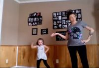 mom and daughter dance video
