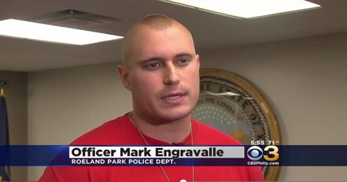 officer mark engravalle video