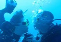 underwater wedding video