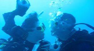 underwater wedding video